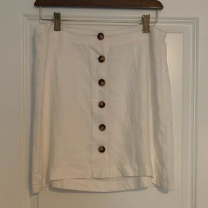 Charlotte Russe white button up shirt